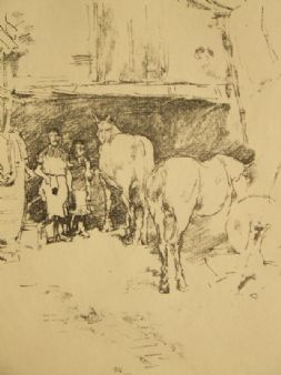 James M. Whistler, Studio 'The Smithy' 1895